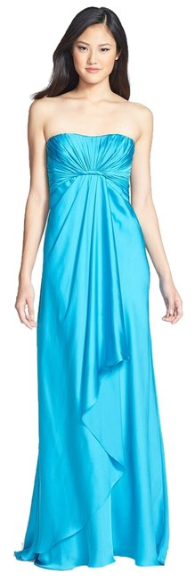 Preload https://img-static.tradesy.com/item/1988954/monique-lhuillier-turquoise-blue-strapless-gown-long-formal-dress-size-0-xs-0-0-650-650.jpg