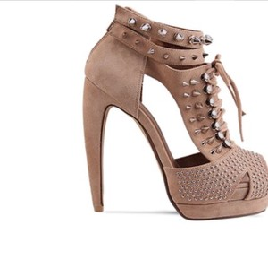 Jeffrey Campbell Beige Platforms