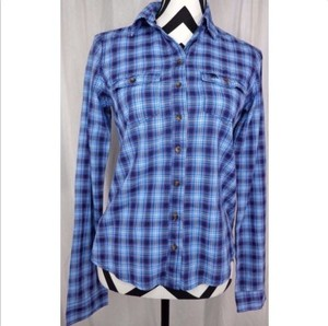 Abercrombie & Fitch Preppy Nwt Plaid Classic Button Down Shirt Pink, White, Blue