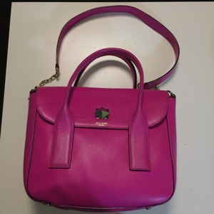 Kate Spade Satchel in Fuchsia Hot Pink