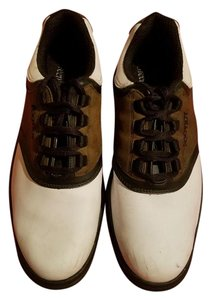 FootJoy 2 Tone Cooler Weather Golf Oxfords Great Support Brown Athletic