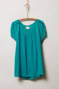 Maeve 4110580814565 Anthropologie Top Turquoise