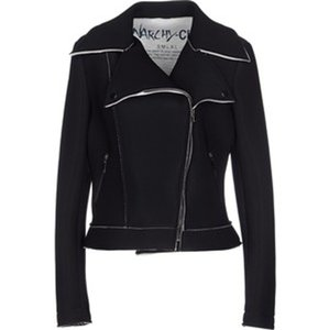 Anarchy Chic Neoprene Moto Motorcycle Jacket
