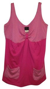 Torrid Polka Dot Tunic 1x 14/16 Top Pink