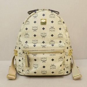MCM Tote Canvas Visetos Small Backpack
