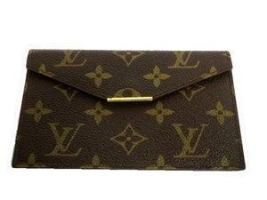 Louis Vuitton Authentic Vintage Louis Vuitton Monogram Passport Holder