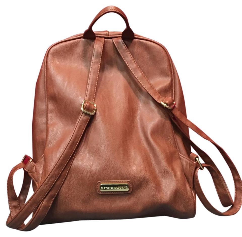 15bef24080 Steve Madden Brown Backpack - Tradesy