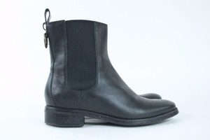 Cole Haan Nike Air Leather Black Boots