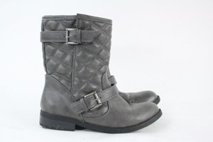 Steve Madden Quilted Faux Leather Boots