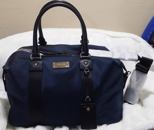Michael Kors Travel Duffle Tote 55 50 blue gold Travel Bag