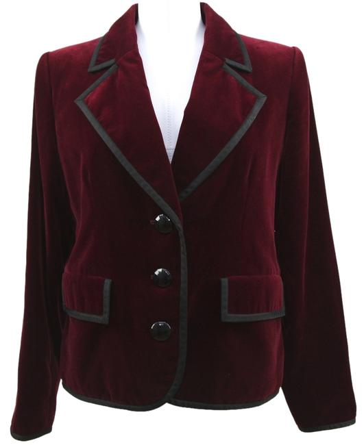 Saint Laurent Red Blazer