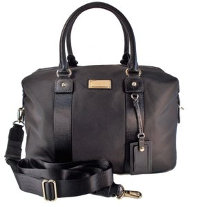 Michael Kors Travel Duffle Tote 55 50 black gold Travel Bag