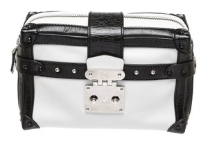 Louis Vuitton White/Black Travel Bag
