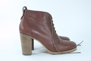 Madewell Leather Lace-up Boots