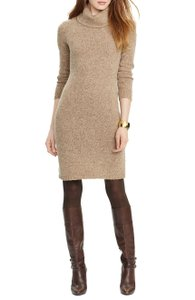 Lauren Ralph Lauren short dress Brown on Tradesy