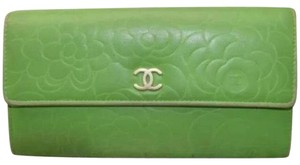 Chanel Camelia Long Wallet