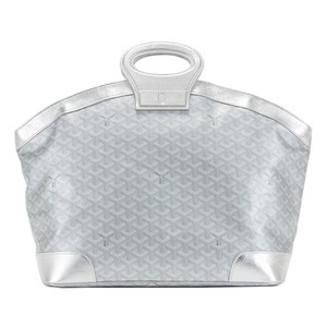 Goyard Satchel in Silver