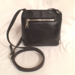 Hobo International Leather Travel Cross Body Bag