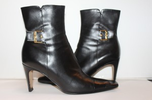 Chanel Coco Runway And Bootie Black Boots