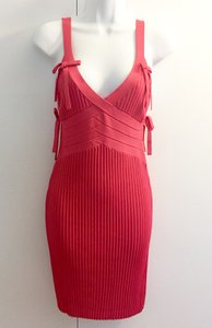 Herv Leger Strawberry Dress