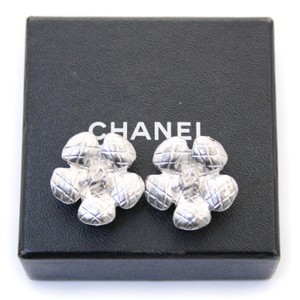 Chanel Chanel Camellia Flower Earrings