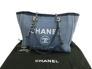 Chanel Deauville Deauville Deauville Tote in Blue
