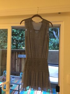 Ulla Johnson short dress Blue on Tradesy