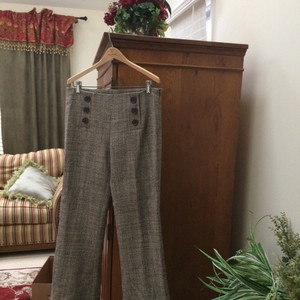 Tory Burch Flare Pants Brown