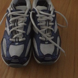 Skechers Shape Ups Shape Ups Xf Toning Shaping Navy and White Athletic