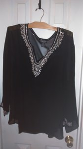 NY Collection Silk Tunic