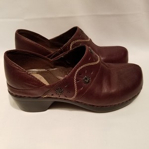 Bjorndal Leather Leather Slip 7 Leather Leather Loafers Brown Mules