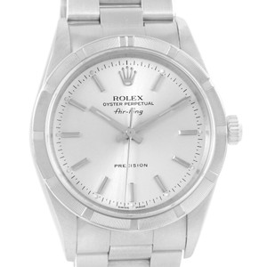 Rolex Rolex Air King Stainless Steel Silver Dial Automatic Mens Watch 14010