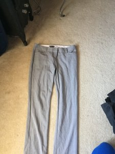 Express Straight Pants Grey