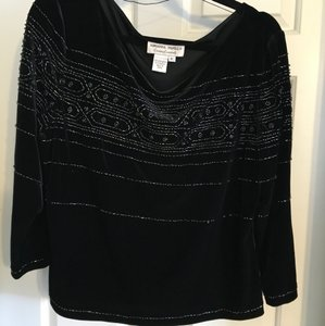 Adrianna Papell Top Black