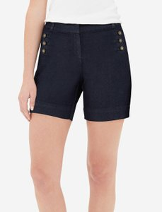 The Limited Bermuda Shorts Dark Denim