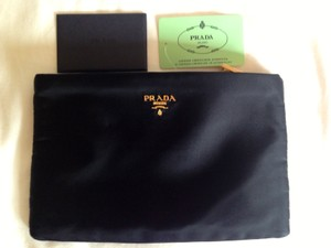 Prada PRADA Nylon Cosmetic/Travel Zip Bag