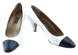 Gucci Heels black and white Pumps