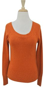 Vince Scoop Neck 100% Cashmere Long Sleeve Sweater