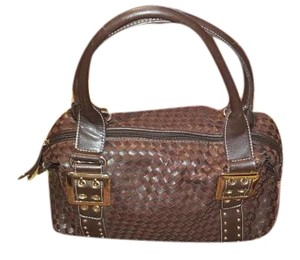Pritzi Satchel in Brown wirh gold hardware