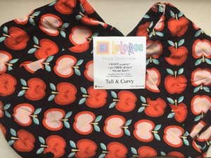 LuLaRoe LuLaRoe TC Tall & Curvy Black Leggings Red Apples Teacher Unicorn HTF NWT Leggings