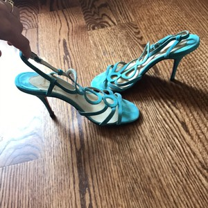 Christian Louboutin Teal light blue Formal