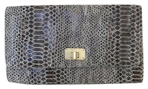 Elliott Lucca Snakeskin Clutch Cross Body Bag