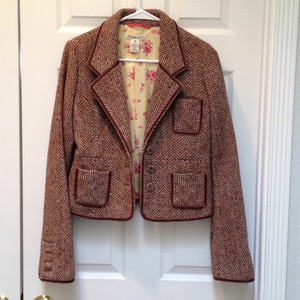 Abercrombie & Fitch Brown Blazer