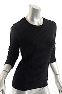 Chanel Fine Knit Ribbed Sweater