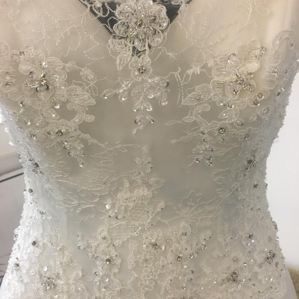 James Clifford Ivory Lace/ Tulle J11590 Traditional