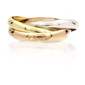 Cartier Cartier Trinity Ring in 18k Yellow, Rose and White Gold