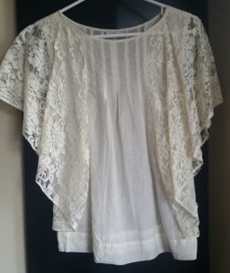 Joie Lace Top Cream