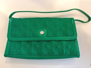 Vera Bradley Limited Edition Shoulder Green Clutch