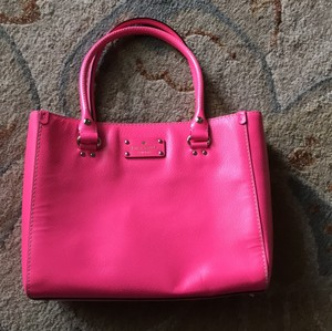 Kate Spade Tote in Hot Pink