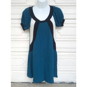 Tampa short dress teal, black, white Sweater Fall Fashion Fall Autumn on Tradesy